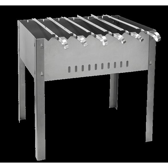 Мангал 41x31 см с 6 шампурами Союзргиль, сталь 0,7, N1-M04F